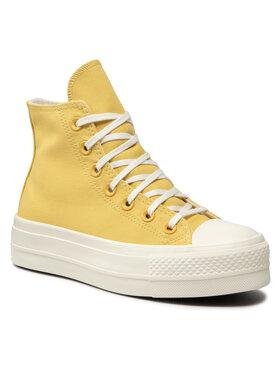 Converse Converse Sneakers aus Stoff Ctas Lift Hi Satur 571670C Grün