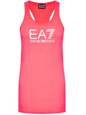 EA7 Emporio Armani EA7 Emporio Armani Топ 3KTH60 TJ1TZ 1427 Розов Regular Fit