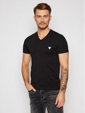 Guess Guess T-Shirt M0BI32 J1311 Černá Super Slim Fit