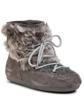Moon Boot Moon Boot Śniegowce Dk Side Low Wool Fur 24300700 Szary