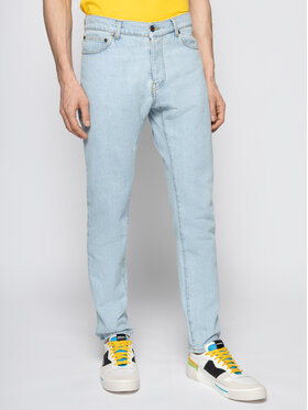 MSGM MSGM Jeansy Regular Fit 2840MP83L 207070 Blu Regular Fit