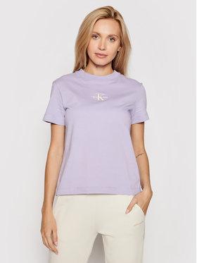Calvin Klein Jeans Calvin Klein Jeans T-shirt J20J215497 Violet Regular Fit
