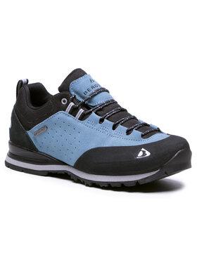 Bergson Bergson Trekingová obuv Binga Low Stx Modrá