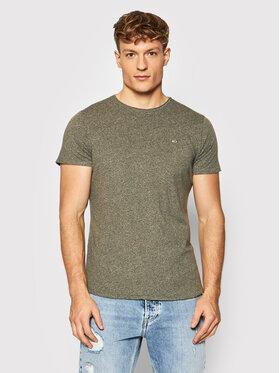 Tommy Jeans Tommy Jeans T-Shirt Jaspe DM0DM09586 Grün Slim Fit