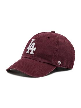 47 Brand 47 Brand Șapcă La Dodgers Clean Up B-RGW12GWS-KMB Vișiniu