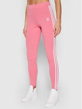 adidas adidas Legginsy adicolor Classics 3-Stripes H09422 Różowy Slim Fit