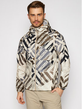 Columbia Columbia Geacă Flash Forward Windbreaker Print 1606803 Bej Regular Fit