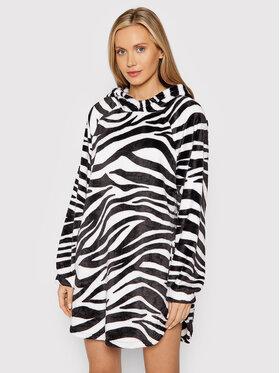 DKNY DKNY Džemper haljina YI2322499 Bijela Relaxed Fit