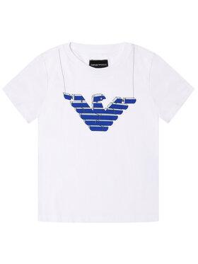 Emporio Armani Emporio Armani T-Shirt 3H4T10 4J09Z 0100 Biały Regular Fit