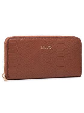 Liu Jo Liu Jo Veľká dámska peňaženka Xl Zip Around AA1176 E0018 Hnedá