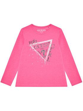 Guess Guess Блуза K1YI01 K6YW1 Розов Regular Fit