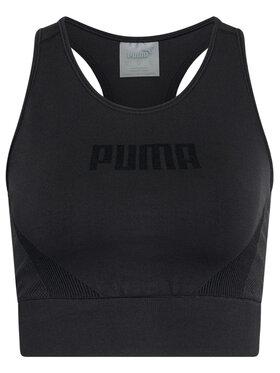 Puma Puma Podprsenkový top Evostripe Evoknit 585943 Černá Tight Fit