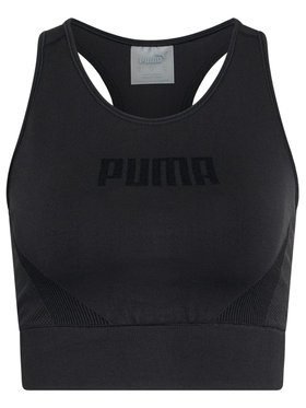 Puma Puma Soutien-gorge top Evostripe Evoknit 585943 Noir Tight Fit