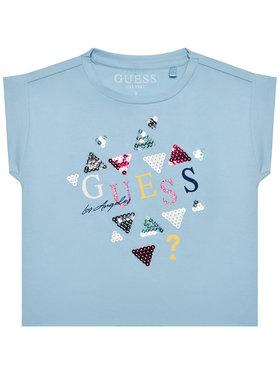 Guess Guess T-Shirt K1GI03 K6YW1 Blau Regular Fit