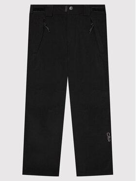 CMP CMP Spodnie outdoor 3A01484 Czarny Regular Fit
