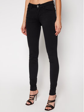 Guess Guess Jeansy Curve X W1GAJ2 W77RE Černá Skinny Fit
