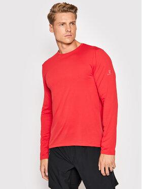 Salomon Salomon Тениска от техническо трико Agile LC1616300 Червен Active Fit