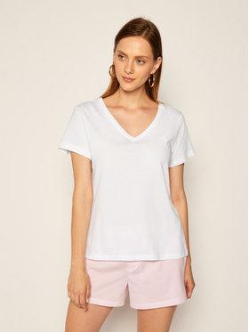 Lauren Ralph Lauren Lauren Ralph Lauren Marškinėliai I811527 Balta Regular Fit