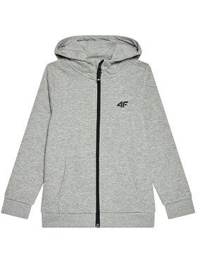 4F 4F Sweatshirt JBLM001A Gris Regular Fit