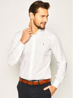 Tommy Hilfiger Tailored Tommy Hilfiger Tailored Koszula Poplin Classic TT0TT07362 Biały Slim Fit