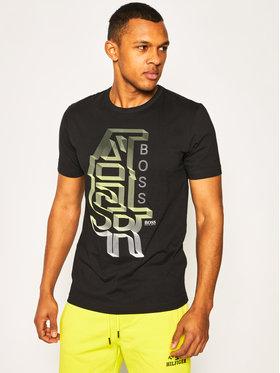 Boss Boss T-shirt Tee 3 50423998 Noir Regular Fit