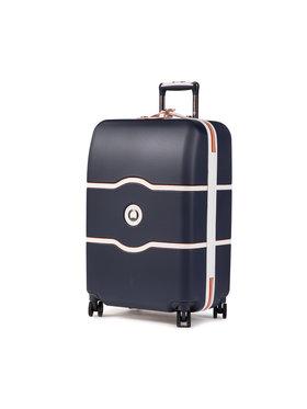 Delsey Delsey Közepes keményfedelű bőrönd Chatelet Air 00167281802 Sötétkék