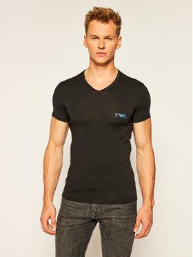 Emporio Armani Underwear Emporio Armani Underwear Tričko 110810 0A715 00020 Čierna Slim Fit