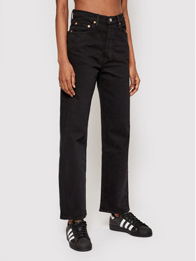 Levi's® Levi's® Farmer Ribcage Straight Ankle 72693-0012 Fekete Straight Fit