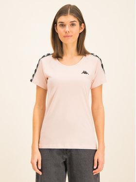 Kappa Kappa T-Shirt Fimra 306045 Rosa Regular Fit