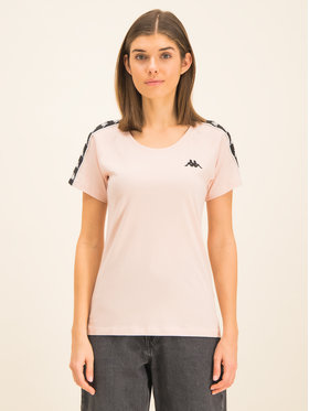 Kappa Kappa T-Shirt Fimra 306045 Różowy Regular Fit