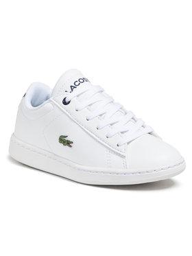 Lacoste Lacoste Sneakersy Carnaby Evo 0721 1 Suc 7-33SPC1003042 Biela