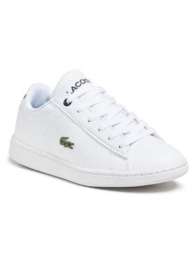 Lacoste Lacoste Sneakersy Carnaby Evo 0721 1 Suc 7-33SPC1003042 Bílá