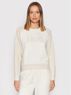 Liu Jo Sport Liu Jo Sport Sweater TF1189 MA831 Fehér Regular Fit