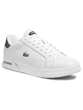 Lacoste Lacoste Sneakersy Twin Serve 0721 3 Sma 7-41SMA0075042 Biela