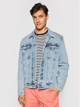 Calvin Klein Jeans Calvin Klein Jeans Džínsová bunda J30J317763 Modrá Slim Fit