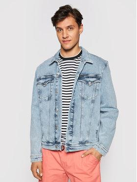 Calvin Klein Jeans Calvin Klein Jeans Jeansová bunda J30J317763 Modrá Slim Fit