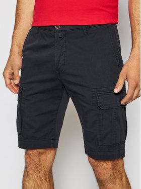Pierre Cardin Pierre Cardin Pantalon scurți din material 3464/000/2080 Bleumarin Bermuda Fit