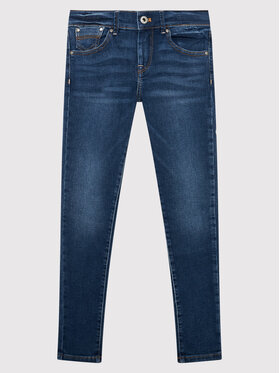Pepe Jeans Pepe Jeans Jeansy Pixlette PG200242 Granatowy Skinny Fit