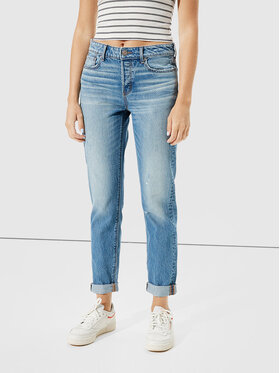 American Eagle American Eagle Jeansy 043-3437-2759 Niebieski Relaxed Fit