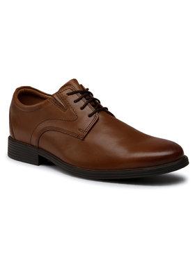 Clarks Clarks Κλειστά παπούτσια Whiddon Plain 261529197 Καφέ