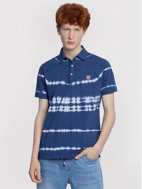 Vistula Vistula Тениска с яка и копчета Chad RX1085 Син Regular Fit