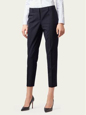 Boss Boss Pantaloni di tessuto Tiluna 50291861 Blu scuro Slim Fit