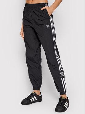 adidas adidas Pantaloni trening adicolor Classics Lock-Up Track H20547 Negru Regular Fit