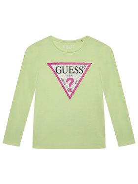 Guess Guess Blúz J1YI36 K6YW1 Zöld Regular Fit
