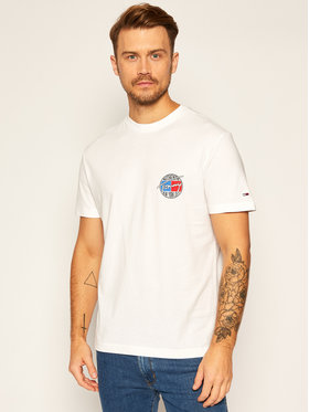 Tommy Jeans Tommy Jeans T-shirt Retro Graphic Tee DM0DM08795 Bianco Regular Fit