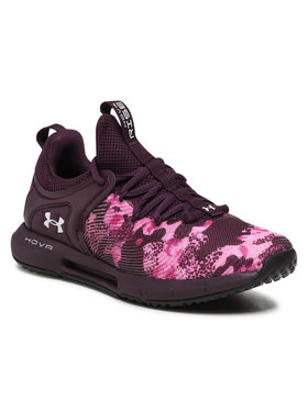 Under Armour Under Armour Buty Ua W Hovr Rise 2 Prnt 3024029-500 Fioletowy