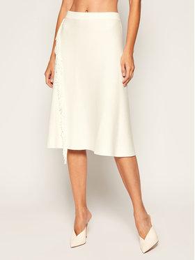 Marella Marella Trapézová sukně Nappe 33060309 Bílá Regular Fit