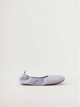 Mango Mango Baleriny Ballet 17010156 Fioletowy