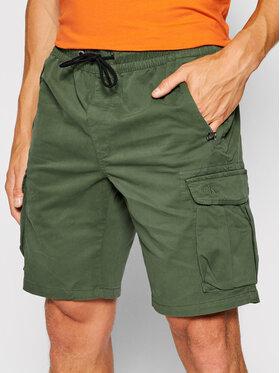 Calvin Klein Jeans Calvin Klein Jeans Σορτς υφασμάτινο J30J317990 Πράσινο Regular Fit