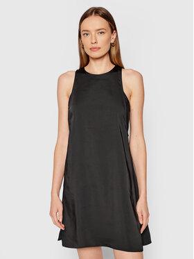 Calvin Klein Jeans Calvin Klein Jeans Коктейлна рокля J20J215274 Черен Regular Fit
